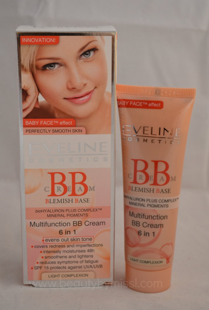 Eveline Cosmetics Multifunction BB cream 6in1 - Light Complexion