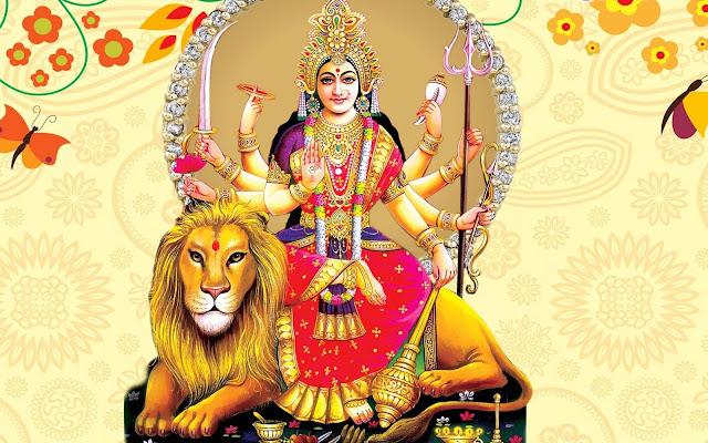Maa Durga Wallpaper for Navratri