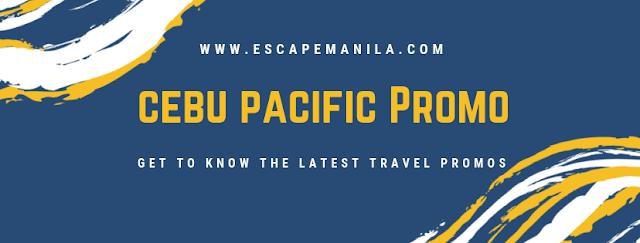 Cebu Pacific Seat Sale