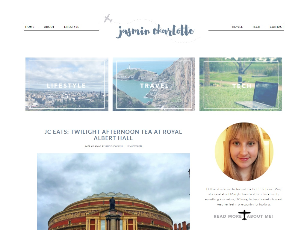 How to have a successful blog, Jasmin Charlotte