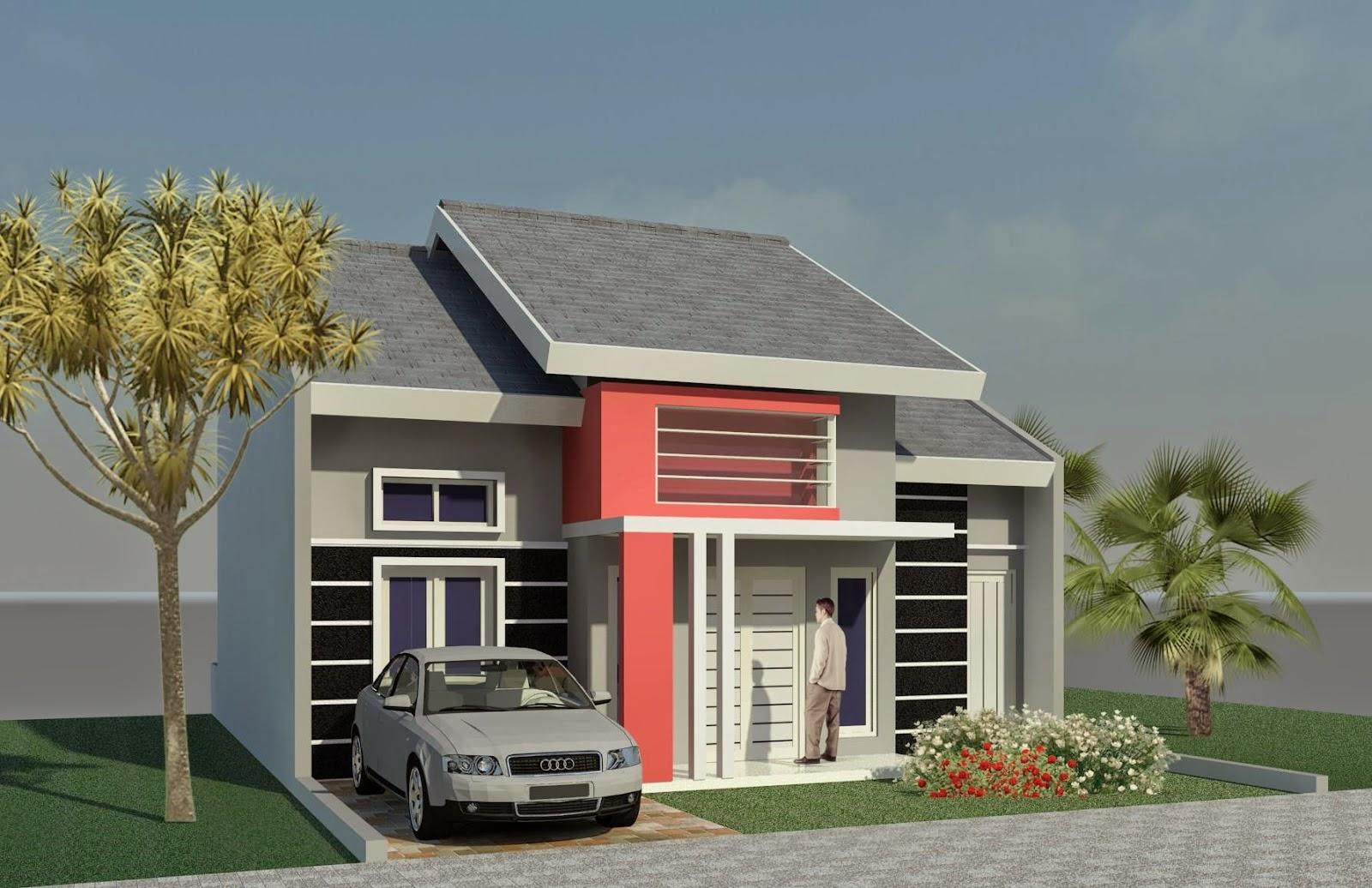 Gambar Desain Model Rumah Minimalis Sederhana Type 21 ...