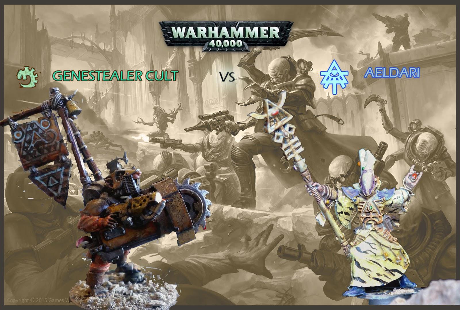 Frontline News – Warhammer 40K 8th edition Aeldari vs