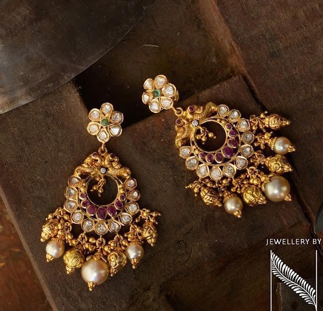 Pretty Earrings and Jhumkas by Nikitha Linga