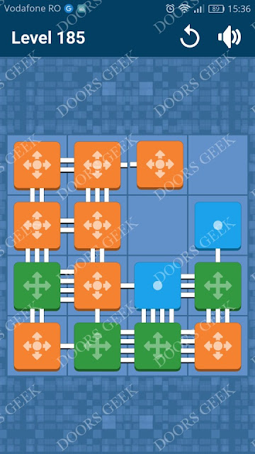 Connect Me - Logic Puzzle Level 185 Solution, Cheats, Walkthrough for android, iphone, ipad and ipod