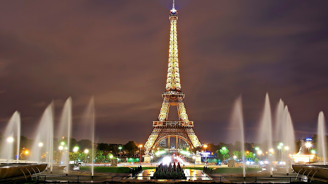 Eiffel Tower City of Lights Paris