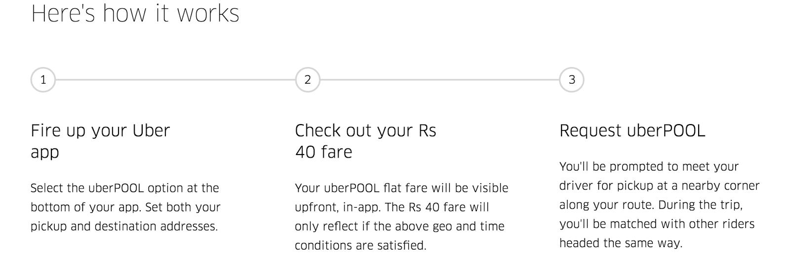 How to uberpool