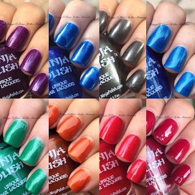 Ninja Polish Gemstone Dreams Collection