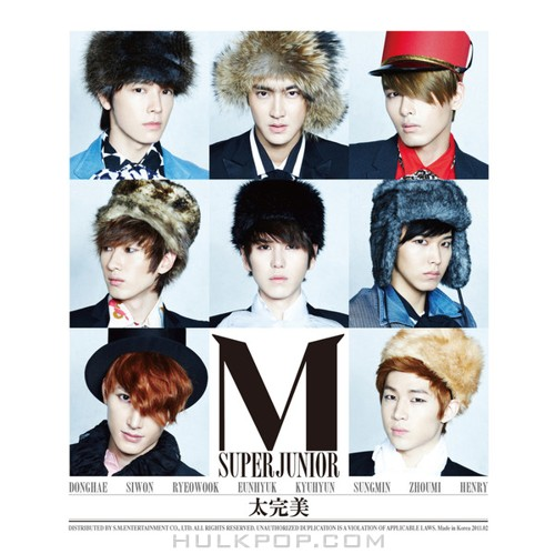SUPER JUNIOR-M – Perfection – EP (ITUNES PLUS AAC M4A)