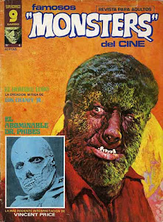 Famosos Monsters del cine 4 Portada