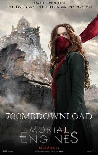 Mortal Engines 2018 Dual Audio Hindi 350MB HDTS 480p