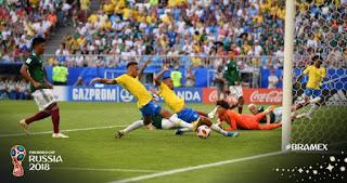Brasil vs Meksiko 1-0 Video Gol Highlights