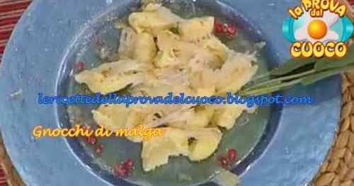Ricetta Originale Gnocchi Di Malga.Gnocchi Di Malga Ricetta Elsa Soave Da La Prova Del Cuoco