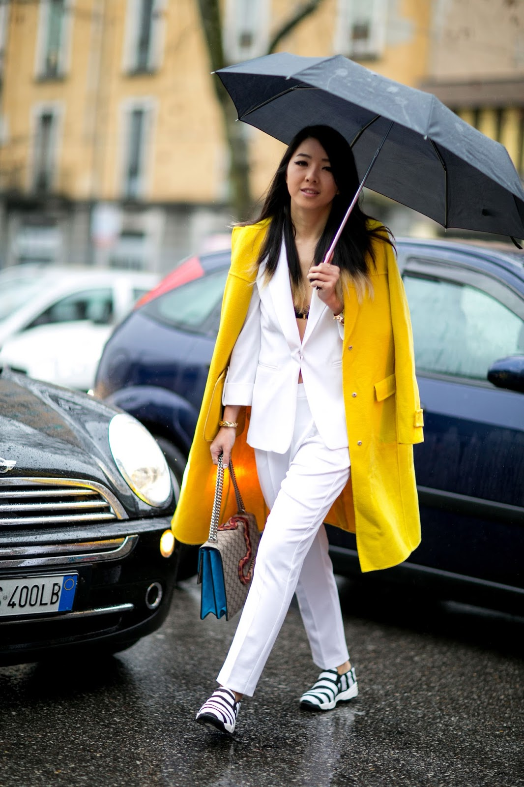 Yuwei Zhangzou's Fashion Week Street Style