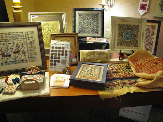 Norsk Needlework: at Home: March 2015 Trade Needlework show in Nashville!!!