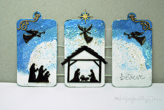 Globecraft & Piccolo - The Christmas Story Mini Triptych