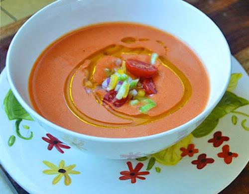 Sopa de tomate fria - Gazpacho