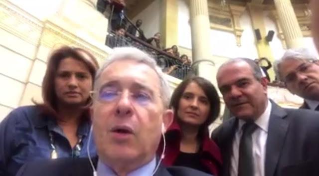 Expresidente Uribe se solidariza con María Corina por la agresión en Anzoátegui (VIDEO)