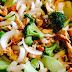 Pollo Estilo Chino sazonado con salsa de ostión y brócoli