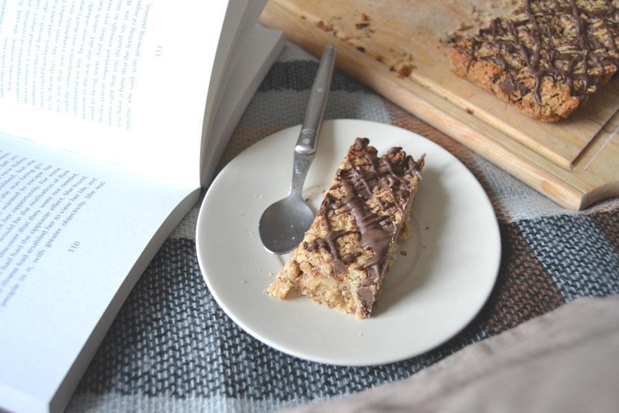 recette barres avoine chocolat noix sans gluten