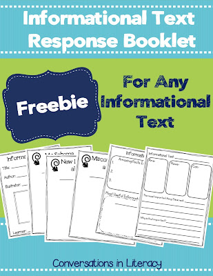 Informational Text Response Booklet