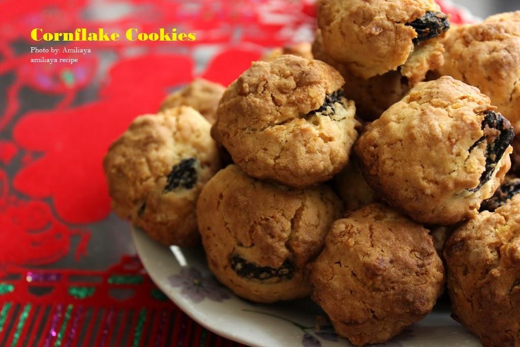 Amiliaya Recipe: Cornflake Cookies 粟米片餅干