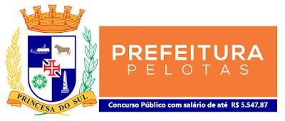 Prefeitura de Pelotas abre concurso público com 331 vagas no RS