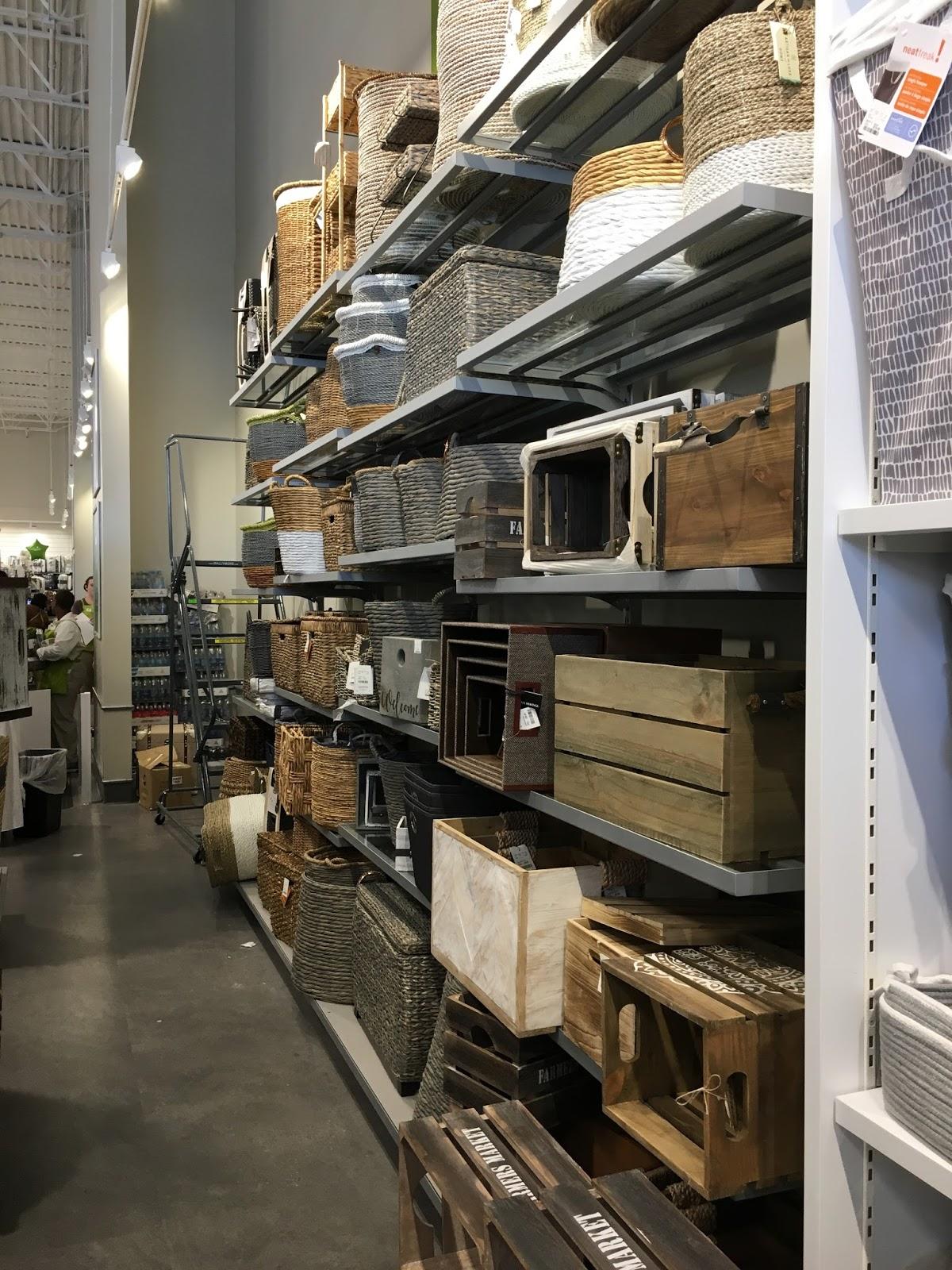 Storage and Baskets at Homesense