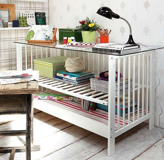 17 Creative Ways You Can Reuse an Old Crib
