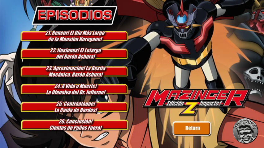 cap2B3 - Mazinger Edition Z: The Impact! (2009) [DVDC NTSC][5 DVDs][HDTV][Audio SOLO Latino]