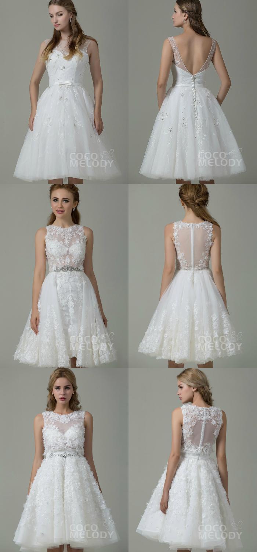 low back wedding dresses, Cocomelody: Vestidos de noivas com decotes nas costas, cocomelody