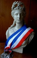 La Marianne à l'écharpe