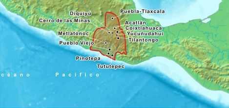 zona geografica cultura mixteca