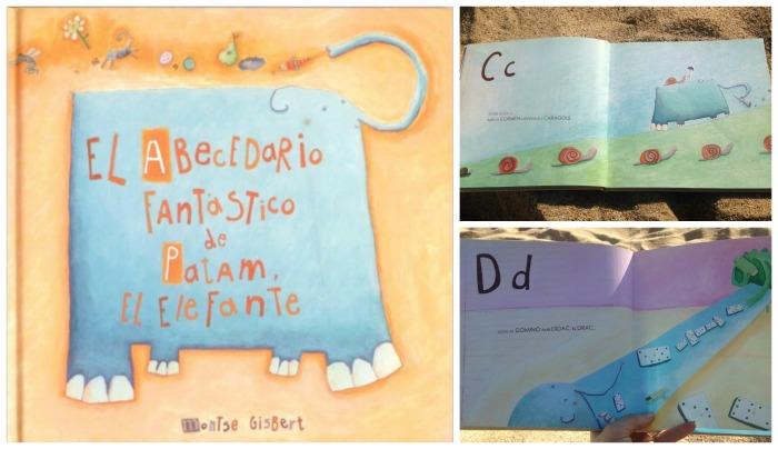 libro infantil abecedario de patam el elefante