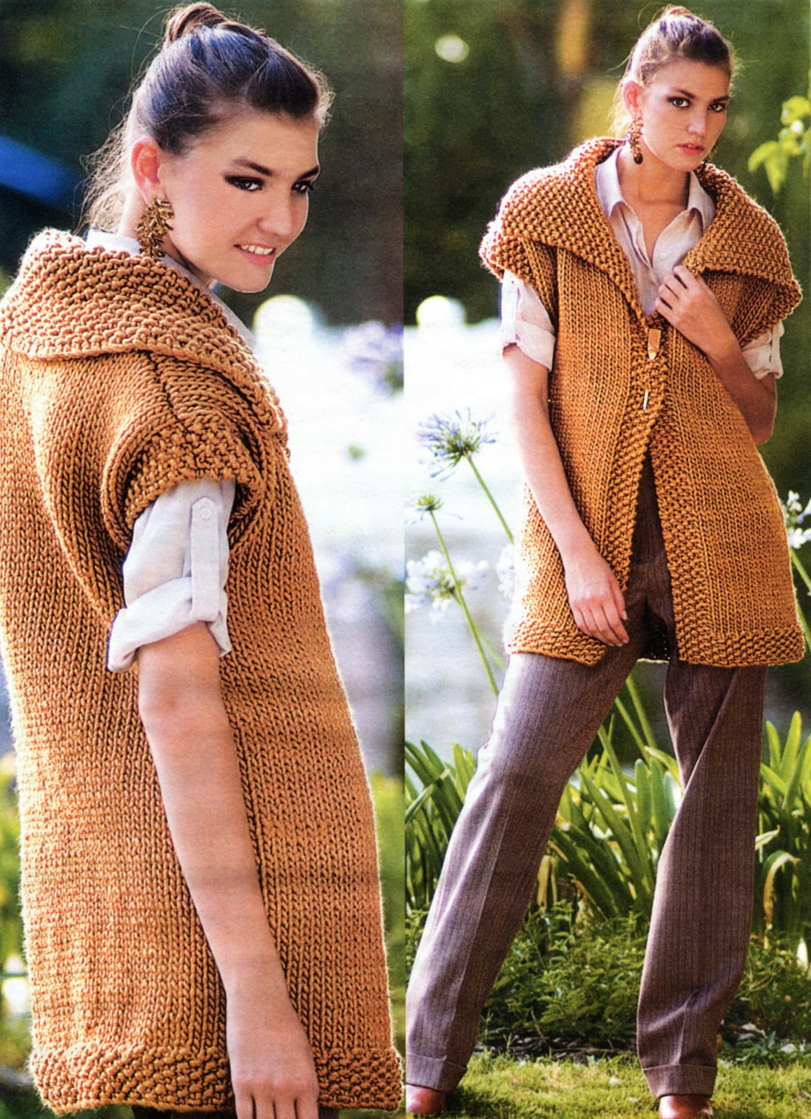 картинки ажурного вязания