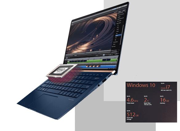 ASUS Zenbook UX333 Intel Core i7 RAM 16GB
