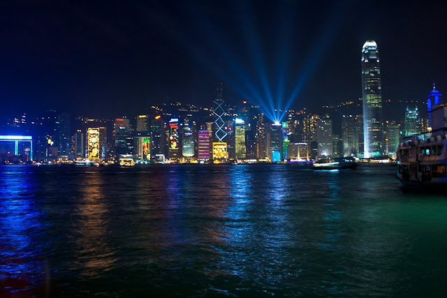 Backpacking travel adventure and hong kong travel