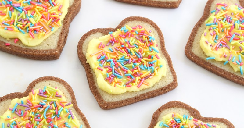 fairy bread cookies for the etsy blog