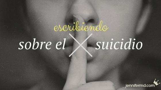 Cómo escribir sobre el suicidio en la ficción