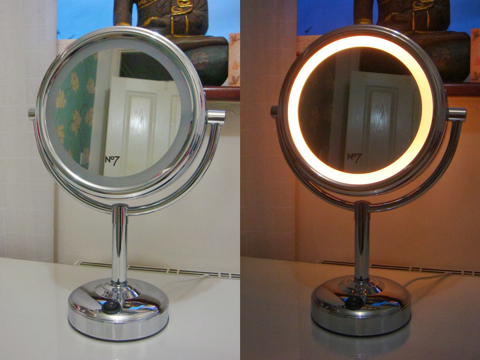 Ruth Boon No 7 Illuminated Make Up Mirror