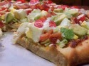 Cobb Salad Pizza with Homemade Pizza Dough