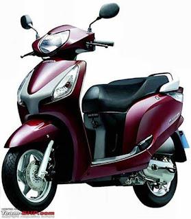 Honda Activa i scooter
