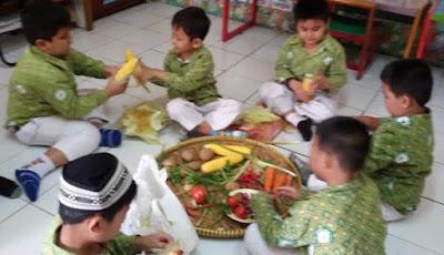 Kegiatan Fun Cooking, Cooking Class di TK Bina Insan Mandiri