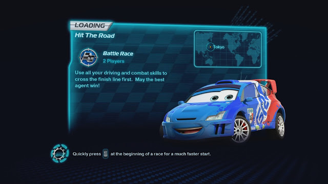 Cars 2: The videogame - Xbox 360 - Multi5 - Captura 2