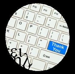 Depois de fazer o resumo da tese, é hora de pensar nos agradecimentos!