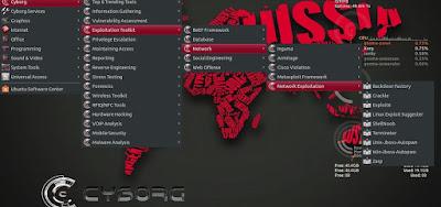 Cyborg Hawk Linux Desktop