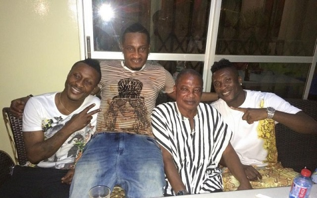 Asamoah Gyan's father forget Gyan attended school with Age?