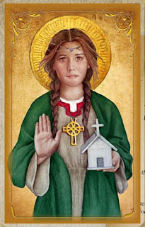 Welsh patron saint of love and romance