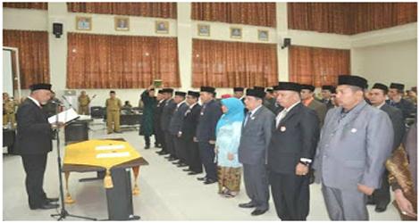 33 Pejabat Eselon II Pemko Padang Pimpin OPD Baru
