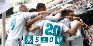 Real Madrid vs Sevilla 5-0 Video Gol & Highlights