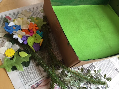 How to make a fairy garden play set with children